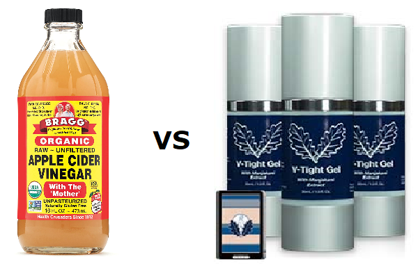 Apple Cider Vinegar Vs V-Tight Gel